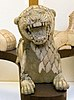 Figure of roaring lion