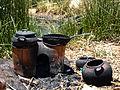 Uros stove, lake Titicaca, Peru.jpg