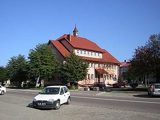 Dąbrówno - Image: Urząd Gminy w Dąbrównie