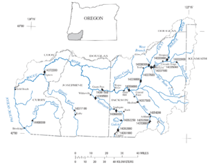 Illinois River Oregon Wikipedia - Map of illinois rivers