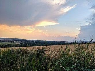 Ushaw Moor - Image: Ushaw Moor Field