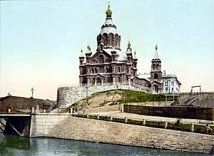 Uspenski Cathedral in Helsinki (1890-1900).jpg