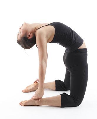 Yoga Sutras of Patanjali - Image: Ustrasana Camel Pose