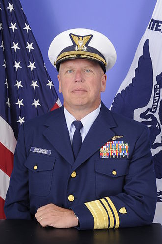 John Currier - VADM Currier, 28th Vice Commandant of the United States Coast Guard