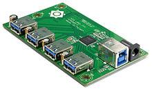 USB 3.0 - Wikipedia Usb Hub Schematic Diagram on usb charging station diy, usb diy dac kit, usb avr programmer circuit, usb hub circuit,