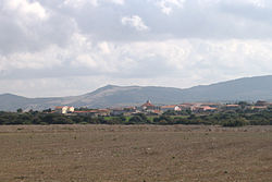 Valledoria seen from the north