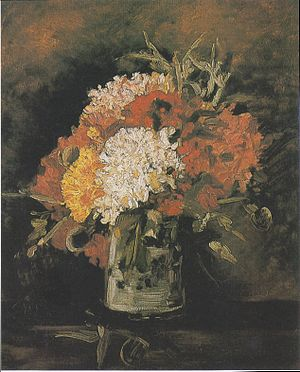 Leicester Galleries - Image: Van Gogh Vase mit Nelken 1