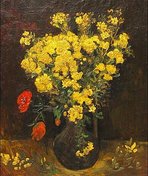 Mohamed Mahmoud Khalil Museum - Poppy Flowers (1887) by Vincent van Gogh was cut from its frame and stolen from the museum in 2010