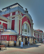 Varna Railway Station HDR