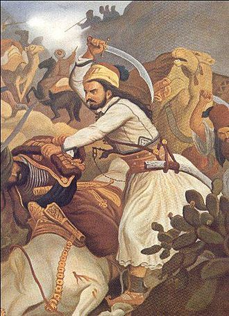 Eastern Question - The Battle of Vassilika in 1821 marked an early turning point in the war.