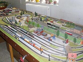 TT scale - TT scale model railroad