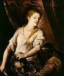 Vecelli, Tiziano - Judith with the head of Holofernes - c. 1570.jpg