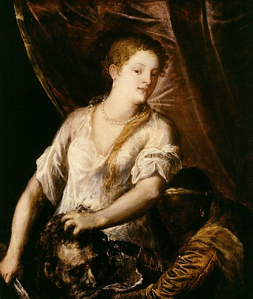 Vecelli, Tiziano - Judith with the head of Holofernes - c. 1570
