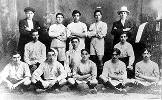 Club Atlético Vélez Sarsfield - Vélez Sarsfield team of 1910