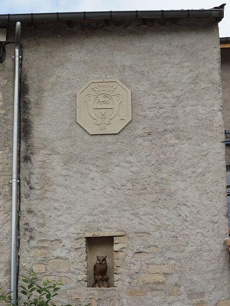 Velle-sur-Moselle (M-et-M) décoration façade maison