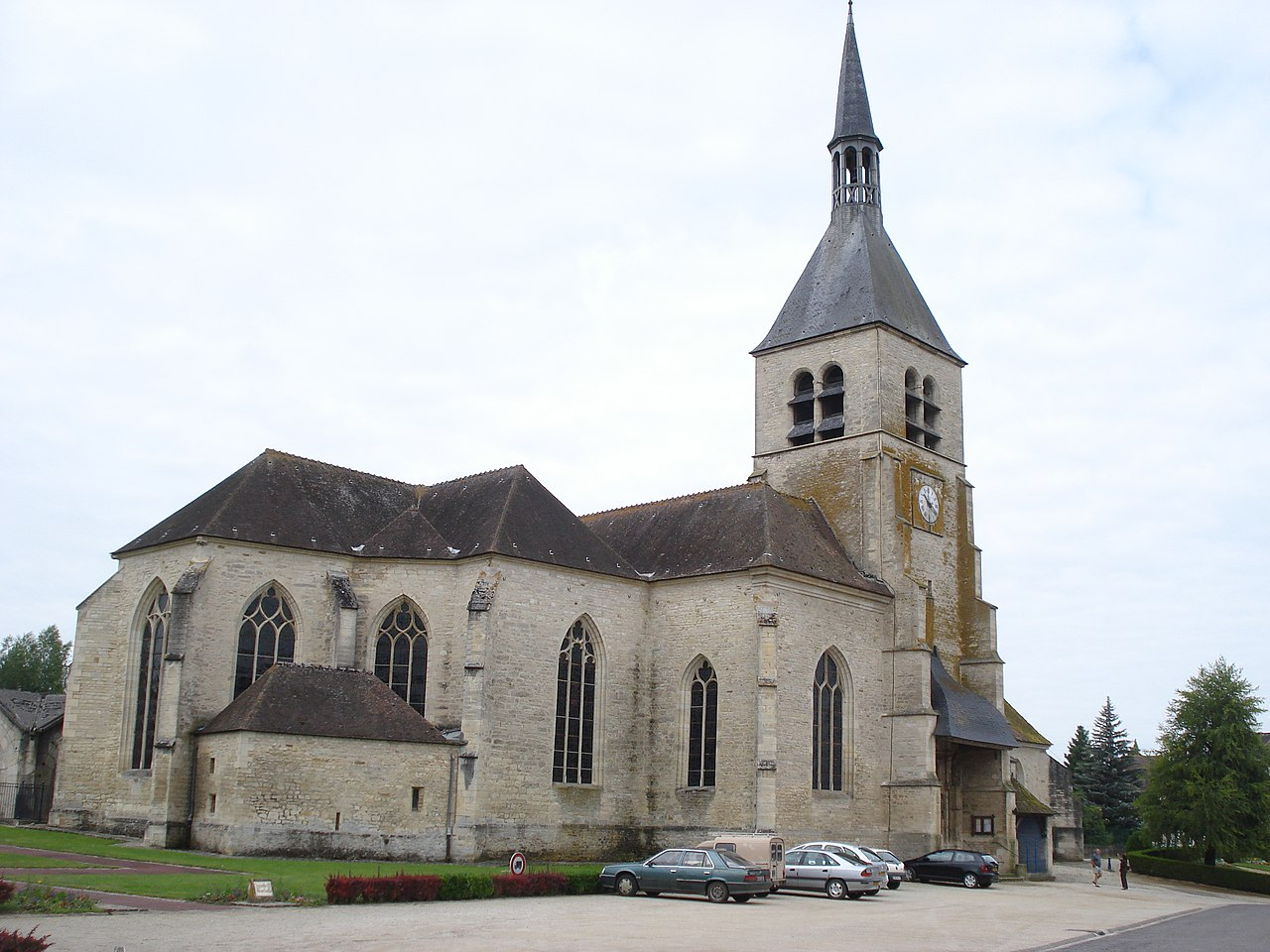 Vendeuvre-sur-Barse (Aube, Fr), l'église.JPG