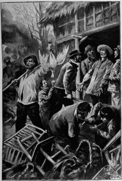 Verne - Les Naufragés du Jonathan, Hetzel, 1909, Ill. page 232