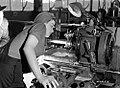 Veronica Foster, ww2 gunsmith, hard at work -a.jpg