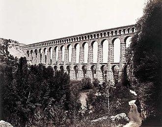 Édouard Baldus - Image: Viaduc de Roquefavour