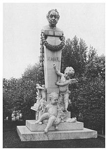 Hummel Denkmal in seiner Geburtsstadt Preßburg (Bratislava). Ein Werk des Bildhauers Viktor Tilgner (Quelle: Wikimedia)