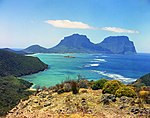 View across the lagoon at Lord Howe Island (23551476216).jpg