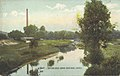 View from Bridge Showing Water Works, Canton, O. (13904262388).jpg