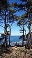 View from Södra Hällarna out to sea.jpg