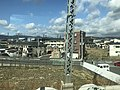 View near JR-Sojiji Station from train of Tokaido Main Line.jpg