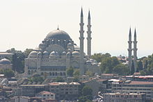 View of Süleymaniye Mosque from the Galata Tower.jpg