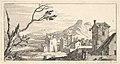 View of a City, plate XI from Livre de paysages dédié à Monsieur de Beringhen MET DP834190.jpg