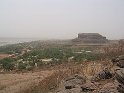 View over Koulikoro
