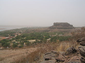 Koulikoro - View over Koulikoro