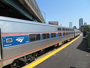 Viewliner - Image: Viewliner on Lake Shore Limited at Yawkey
