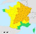 Vigilance météorologique MétéoFrance du 1er juillet 2015 16h.png
