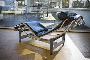 Charlotte Perriand - Chaise Lounge by Charlotte Perriand and Le Corbusier