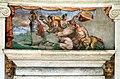 Villa giulia, portici con affreschi di pietro venale e altri, sileno ebbro.jpg