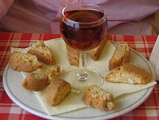 Cantucci e Vin Santo