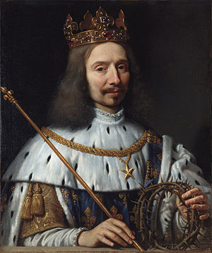 Philippe de Champaigne - French poet Vincent Voiture depicted as Saint Louis