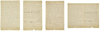 The Letters of Vincent van Gogh - Letter 716: Vincent van Gogh and Paul Gauguin to Emile Bernard. Arles, Thursday, 1 or Friday, 2 November 1888