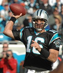 26948d45a Vinny Testaverde with the Carolina Panthers in 2007.