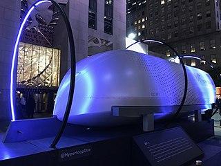 Virgin Hyperloop American transportation technology company