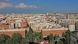 Gaztambide (Madrid) - Image: Vista de Chamberí (Madrid) 01