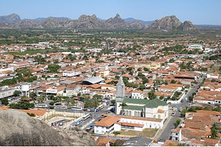 Quixadá Municipality in Ceará, Brazil