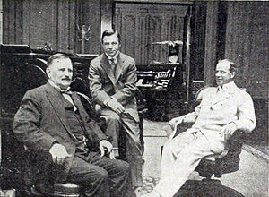 J. Stuart Blackton - Vitagraph Studios founders William T. Rock, Albert E. Smith and J. Stuart Blackton (1916)