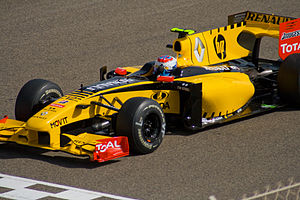 Vitaly Petrov - When Petrov drove for Renault at the 2010 Bahrain Grand Prix, it was the first time a Russian had driven in the Formula One World Championship.