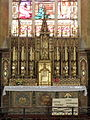 Vitré (35) Église Notre-Dame Maître-autel 01.JPG