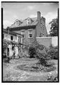 Vowell-Snowden-Black House, 619 South Lee Street, Alexandria, Independent City, VA HABS VA,7-ALEX,170-2.tif