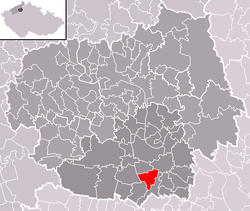 Location of Vražkov