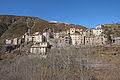 Vue du village de Pierlas depuis le flanc sud du vallon de Coulié.JPG