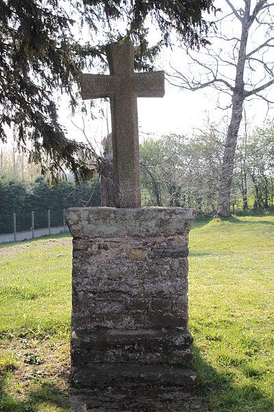 Croix de la chapelle Sainte-Anne (XVI° siècle), Fr-56-Saint-Dolay